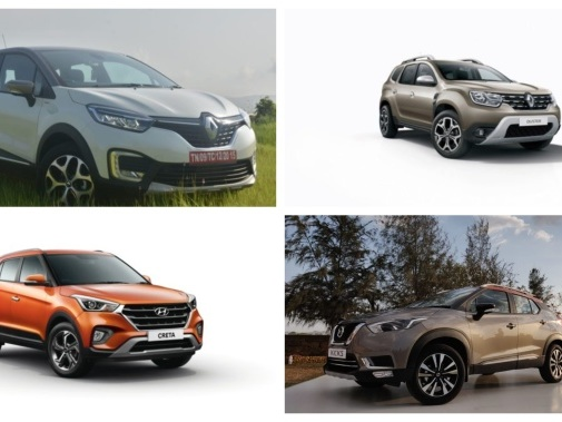 The New Nissan Kicks Against the Hyundai Creta, Renault Duster and Renault Captur