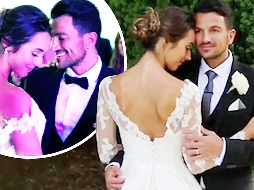 Peter Andre shares rare glimpse of breathtaking wedding to wife Emily on fourth anniversary