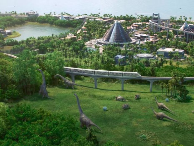 Jurassic World Evolution theme park sim revealed by Planet Coaster's developer