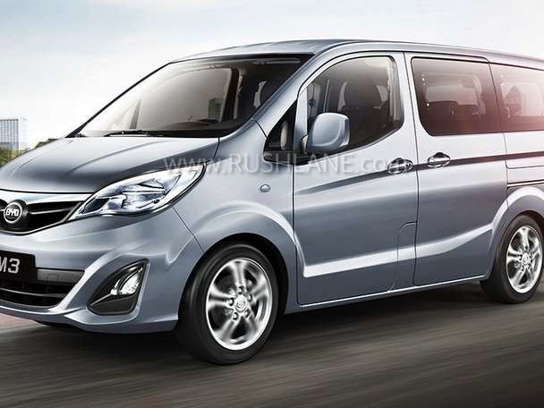 China's BYD T3 MPV, Minivan launched in India – Price not revealed