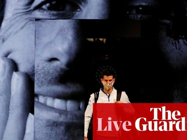 Novak Djokovic v Daniil Medvedev: ATP Tour Finals – live!