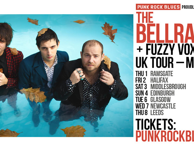 Fuzzy Vox release new EP BA-DA-BOOM and announce 2018 UK TOUR