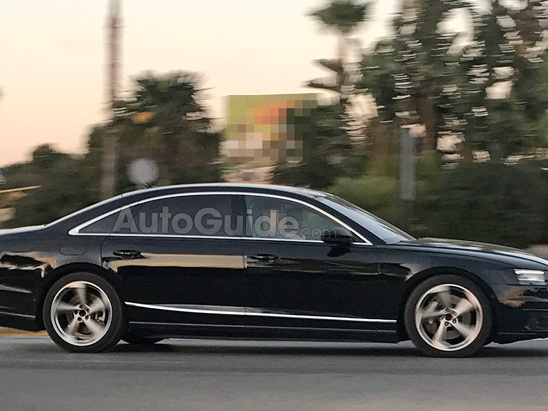 Next Audi A8 Will See a Speed Bump Before Driving Over It