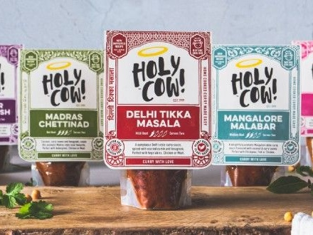 Plant-Based Cooking Sauces - Holy Cow! Curry Sauces Have Been Relaunched with a New Recipe (TrendHunter.com)