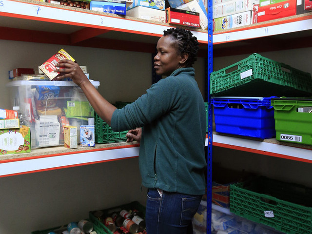 The Number Of People Using Foodbanks Has Risen By 13% In A Single Year