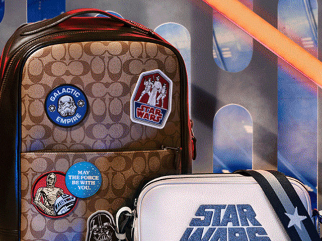 Calling Fashionistas in the Galaxy! Star Wars x Coach Collection Now Available!