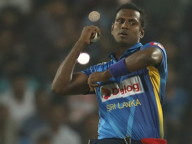 Angelo Mathews to be Sri Lanka's stand-in captain for T20I series in West Indies