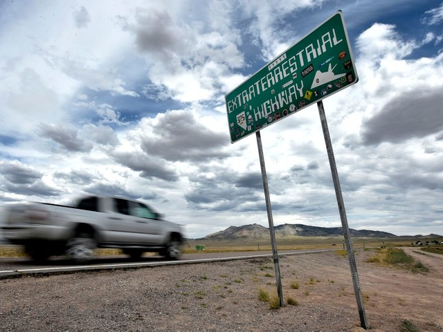 Town near Area 51 warns people to stay away from planned festival