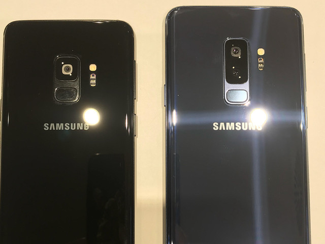 Real deal Galaxy S9 and S9+ smile for the camera