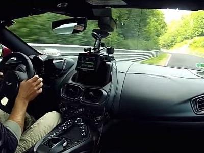Aston Martin V8 Vantage Laps the Nurburgring Nordschleife in 7:43.92