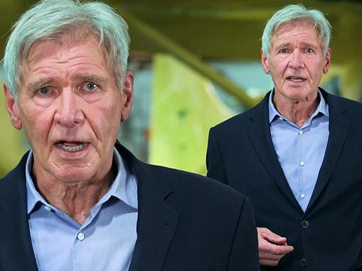 Harrison Ford the avid pilot becomes spokesman for disaster relief nonprofit Airlink