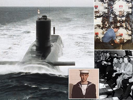 HMS ARMAGEDDON: Astonishing book reveals how nuclear submariner learned to live cheek by jowl