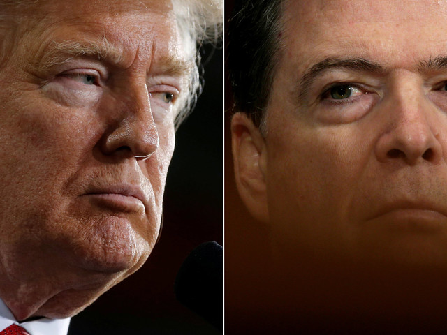 Trump Reportedly Won't Block Former FBI Director James Comey From Testifying