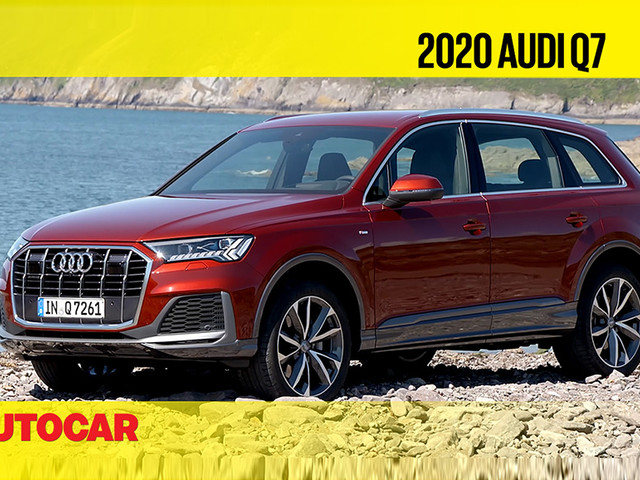 Review: 2020 Audi Q7 facelift video review