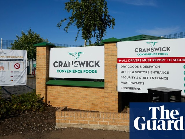 'A terrible way to go for £9 an hour': fear at meat plant after three coronavirus deaths
