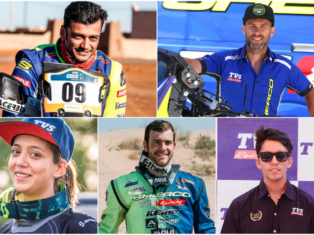 TVS announces rider line-up for 2019 Baja Aragon