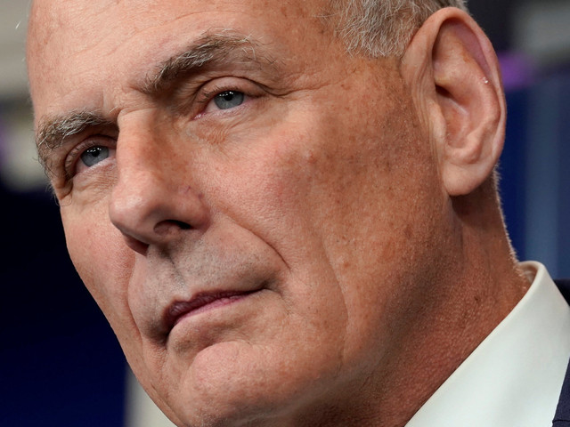 John Kelly Is Sad Women Are No Longer 'Sacred.' Women Are Not That Sad.