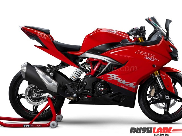 Test ride, buying, and delivery: TVS Apache RR 310 at dealerships