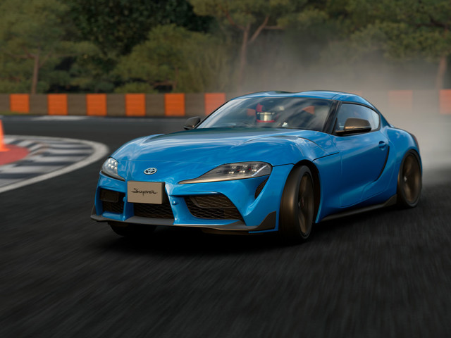 Inside track: Testing the new Toyota Supra on a PlayStation
