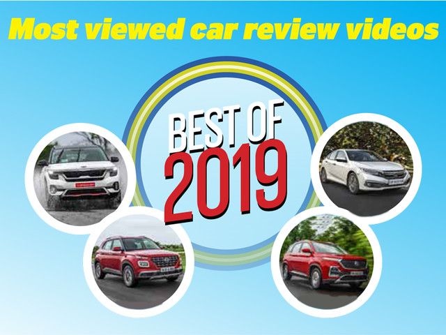 Best of 2019: Most viewed car review videos