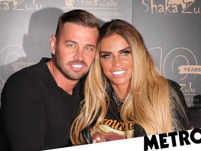 Katie Price and boyfriend Carl Woods get new pup for anniversary four months after dog Rolo's death