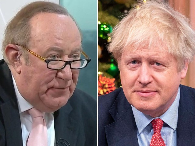 Boris Johnson challenged by Andrew Neil for second time to take part in interview after PM suggests he's willing to talk