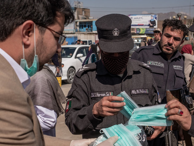 Waiving Rent and Making Masks, Afghans Meet Coronavirus With Kindness