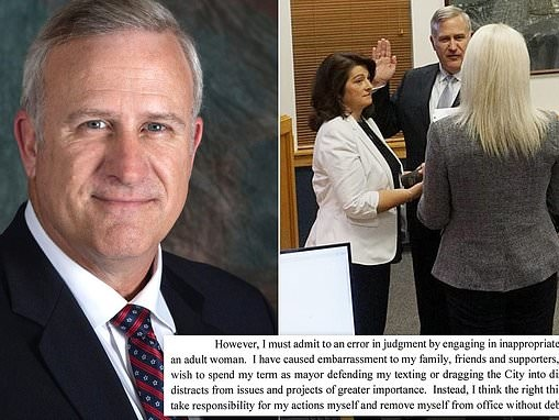 Florida mayor resigns due to 'inappropriate texting'