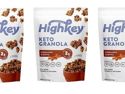 Satisfying Low-Carb Granolas - The Highkey Keto Granola is Lightly Sweetened and Diet-Friendly (TrendHunter.com)