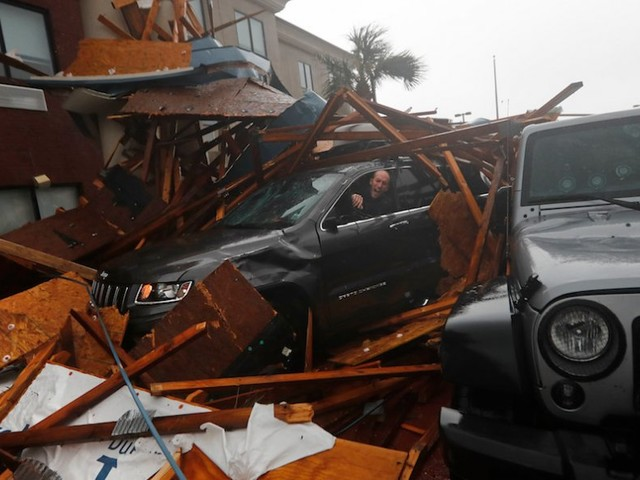 Early videos of Hurricane Michael reveal the scale of the storm's destruction in the Florida Panhandle