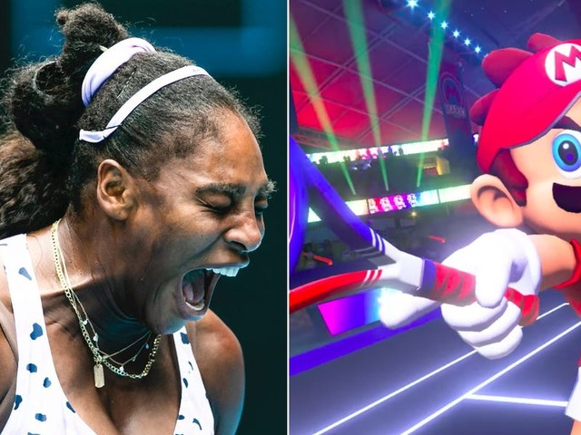 Serena Williams and Naomi Osaka will take part in a livestreamed 'Mario Tennis' tournament with a $1 million charity prize
