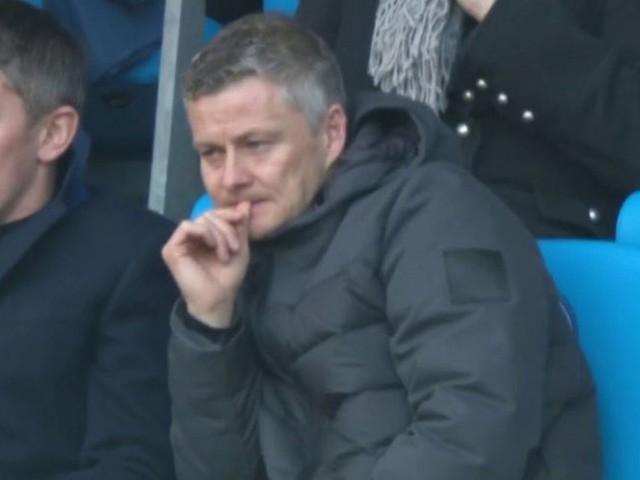 Manchester United boss Ole Gunnar Solskjaer spotted at Man City vs Chelsea