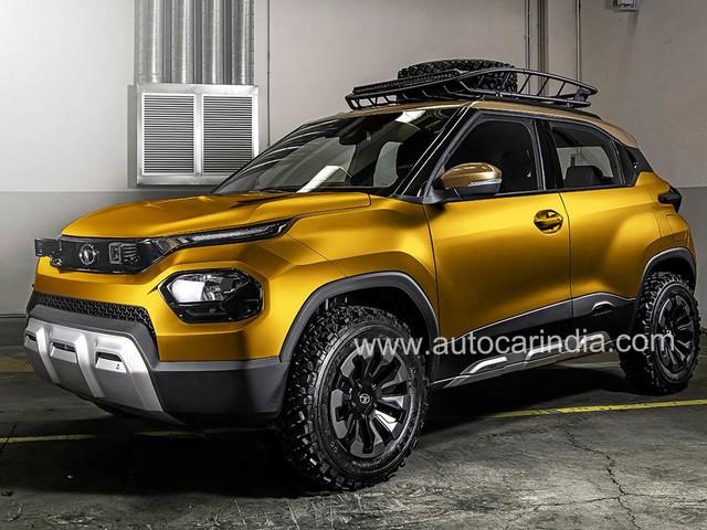 Upcoming Tata micro-SUV christened HBX