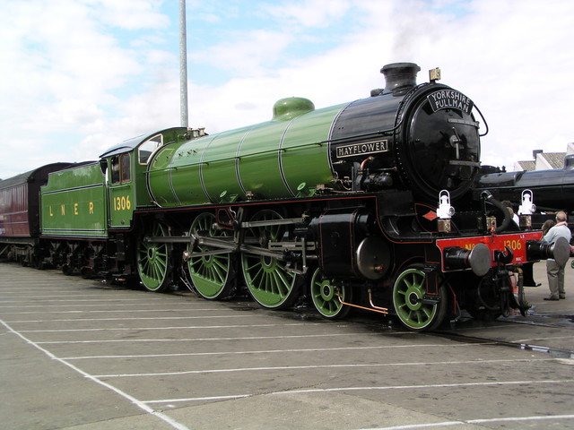 Catch a steam train in East London on Saturday