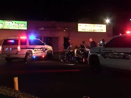 One dead, and three hurt after motorcycle gang shootout at Texas bar
