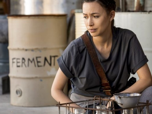 'Walking Dead' Star Christian Serratos in Talks for Selena Series at Netflix