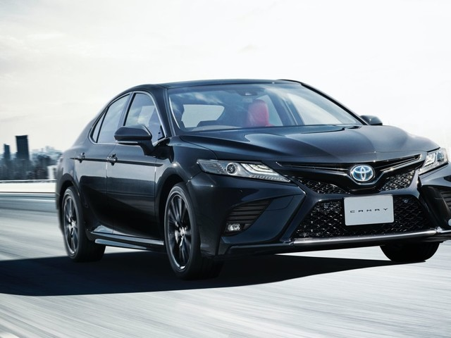 Toyota Camry Black Edition Launched In Japan; Celebrates 40th Anniversary