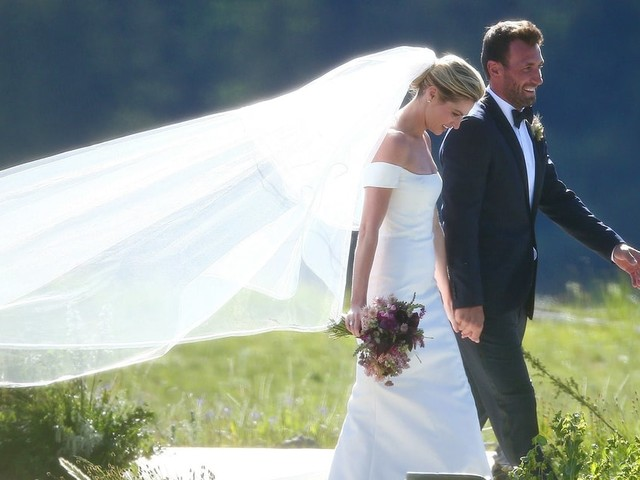 Erin Andrews and Jarret Stoll's Wedding Album: See All the Romantic Photos From Their Montana Nuptials