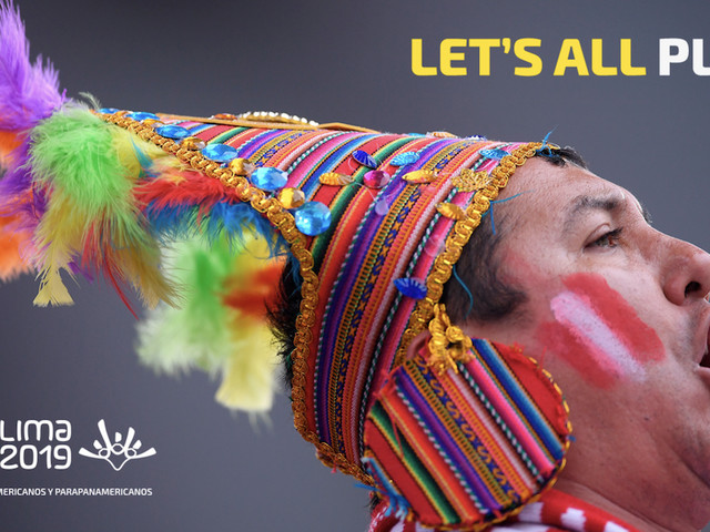 """""""Let's all play"""" revealed as official slogan for Lima 2019"""