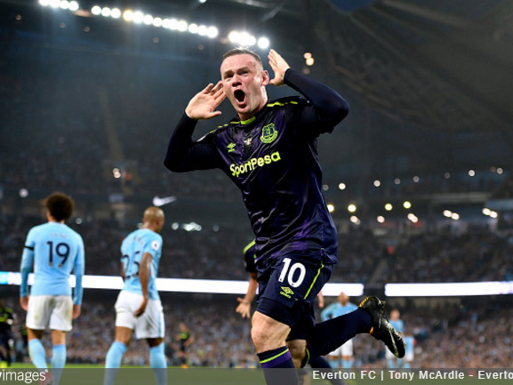 Amazing Spot: Wayne Rooney Upsets Exact Same Man City Fans He Angered Four Years Ago By Scoring 200th Premier League Goal (Photo)