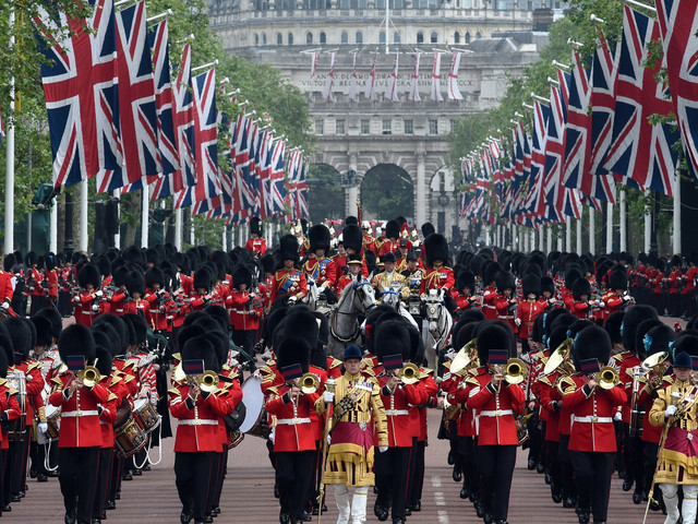 What Is Trooping The Colour? 2017's Parade For The Queen's Birthday Celebrations