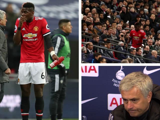 Manchester United manager Jose Mourinho sends Paul Pogba a message
