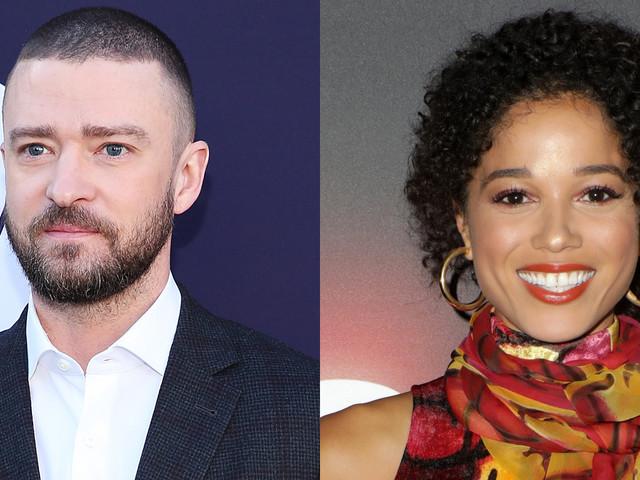 Justin Timberlake & Alisha Wainwright's Hand Holding is 'Completely Innocent,' Source Says