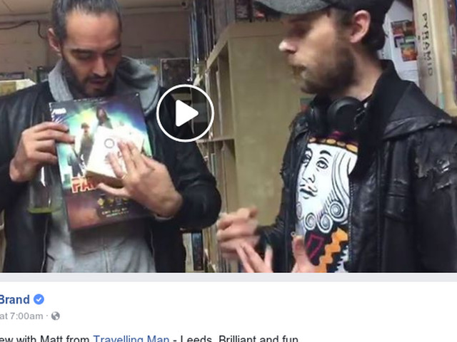Russell Brand compares board games to humanity and sends us into an existential crisis