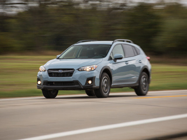 2018 Subaru Crosstrek Manual – Instrumented Test