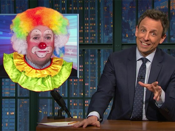 Seth Meyers: You Can't Tax the Sun Because Orange Balls of Gas Never Pay Their Taxes