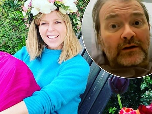Kate Garraway hopes husband Derek Draper will soon be strong enough to join her in the garden