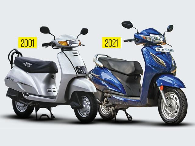 20/20: 20 years of the Honda Activa