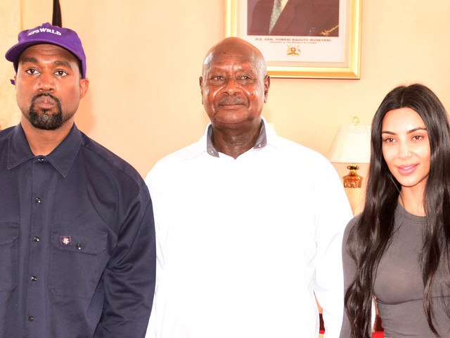 Kanye West And Kim Kardashian Meet With Trump-Loving President Of Uganda