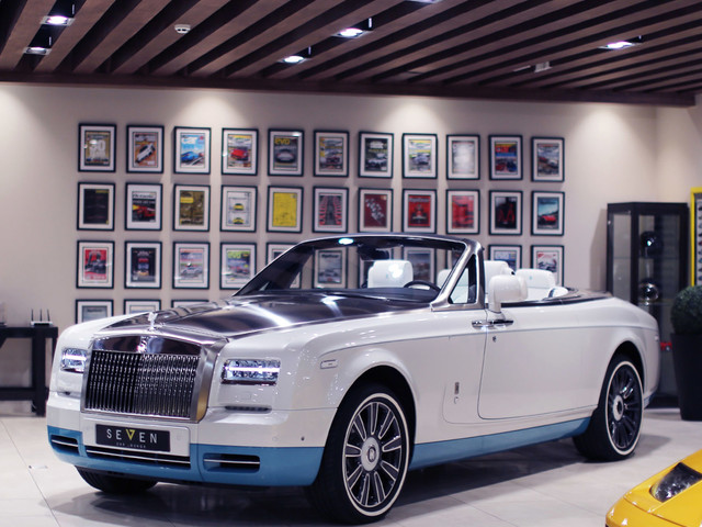 The Last Rolls-Royce Phantom Drophead Coupe Is Up for Grabs
